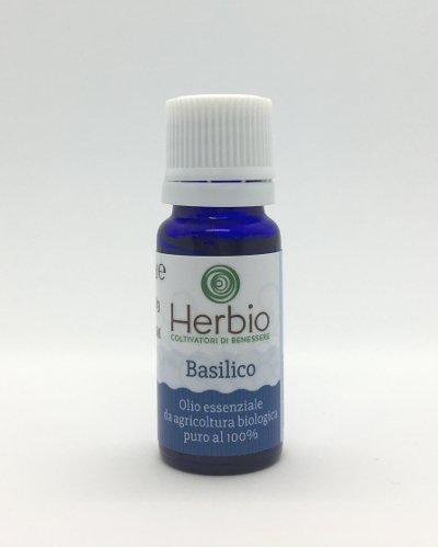 Olio essenziale di basilico bio